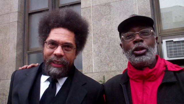 Cornel West and Carl Dix 2015 Alice Walkers Garden