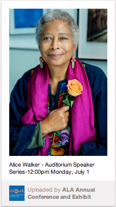 Alice Walker, photo by Ana Elena