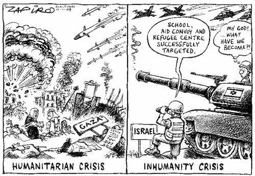 Zapiro Gaza Crisis