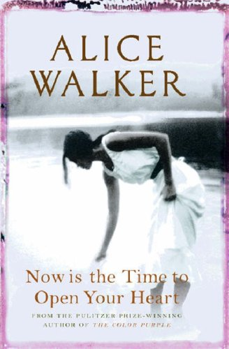 book cover alice-walker-now-is-the-time-to-open-your-heart