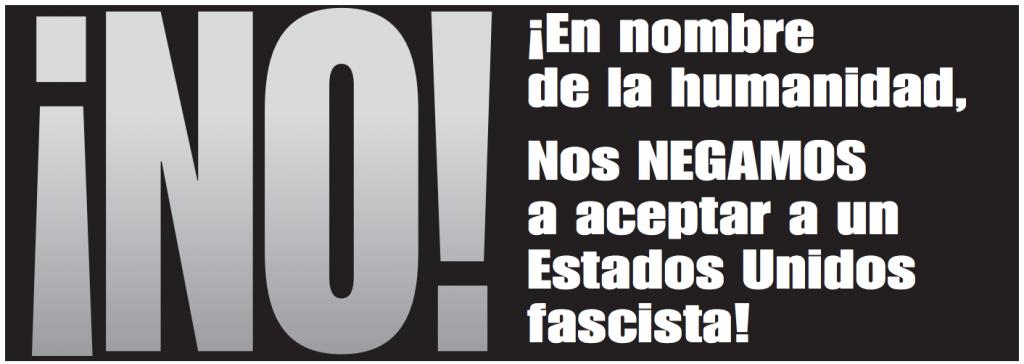Refuse Fascism en español