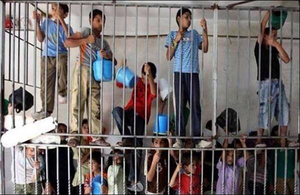 ילדים פלסטינים בכלא Palestinian Children Jailed