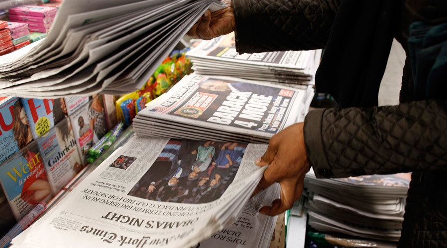 why does media lie © Chip East / Reuters