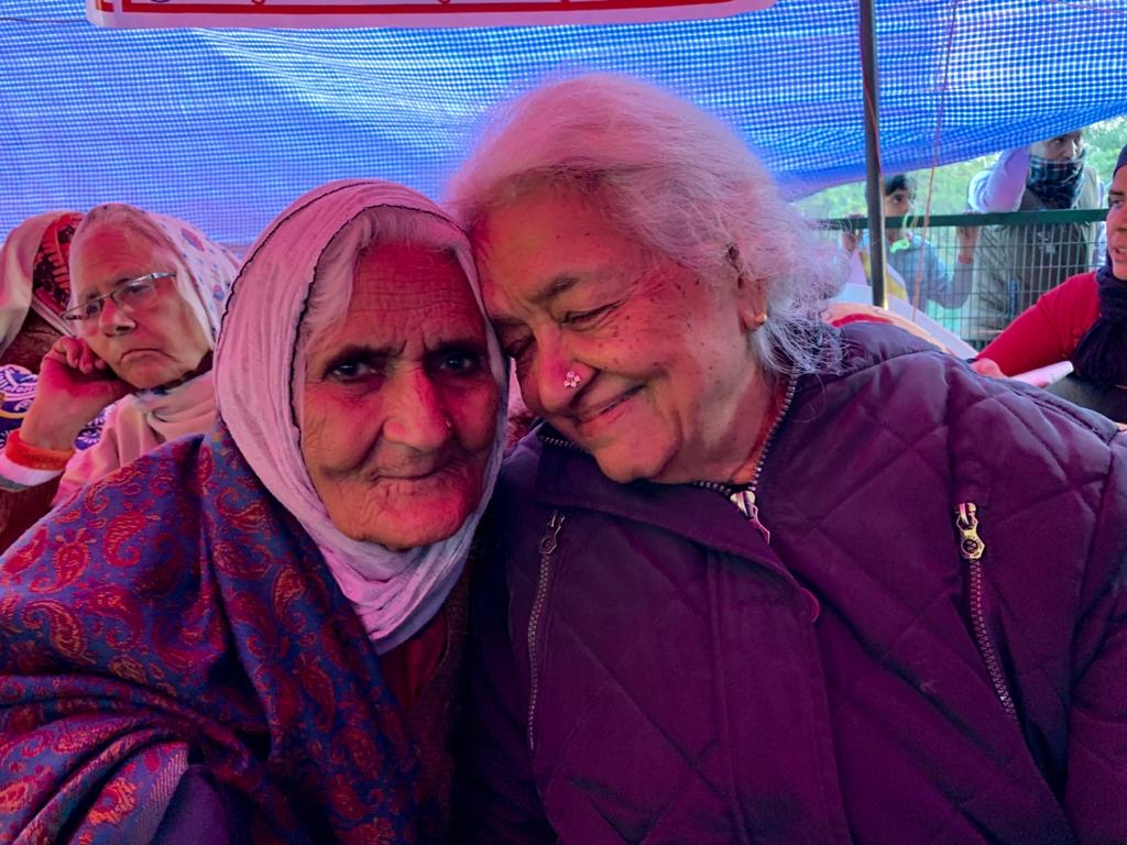 Bilquis Bano and Devaki Jain, India. 2020. The beautiful season of saying no.