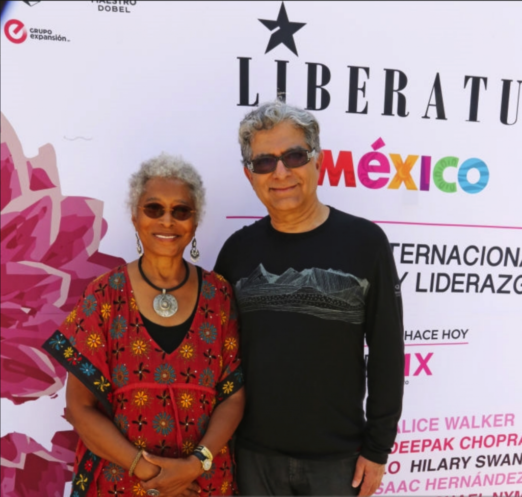 Alice Walker Deepak Chopra Liberatum Mexico Festival 2018