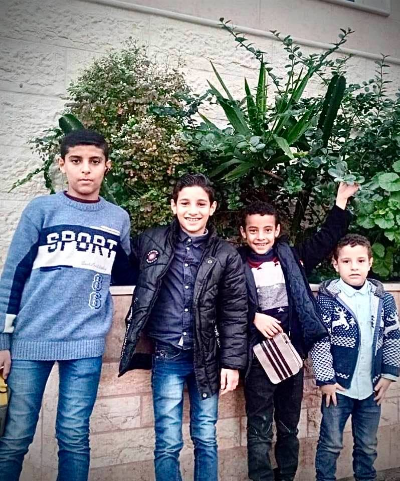 All 4 boys Palestine children killed by Israeli Forces