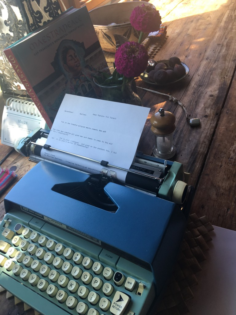 Smith Corona Typewriter Alice Walker