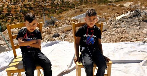 Palestinian village destroyed Israeli 1