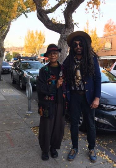 Alice Walker - New Friend Berkeley CA Dec 2018