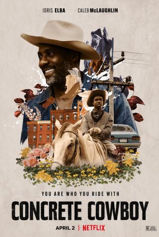 Movie Poster CONCRETE COWBOY Netflix