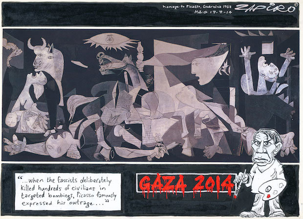 Letter for Gaza Cartoon AWG Post July 23 2014