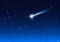 morning sky shooting star alicewalkergarden