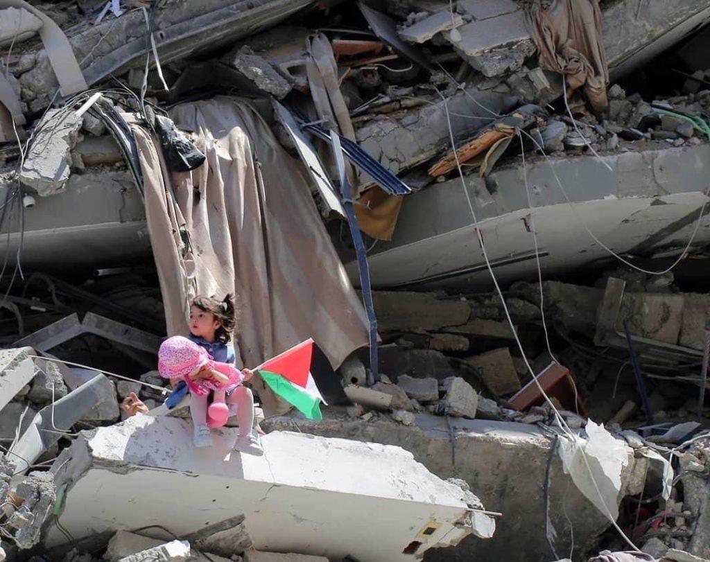 Palestine: children homes destroyed 2021-05
