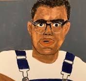 Painting of Bob Moses