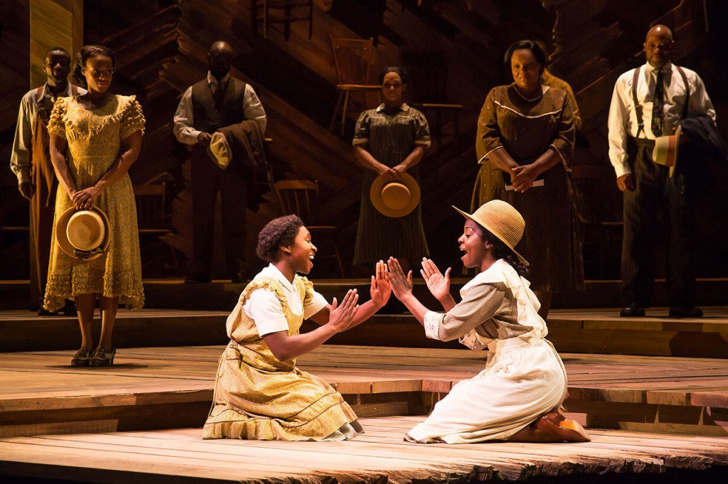 the color purple cynthia erivo joaquina kalukango alice walkers garden