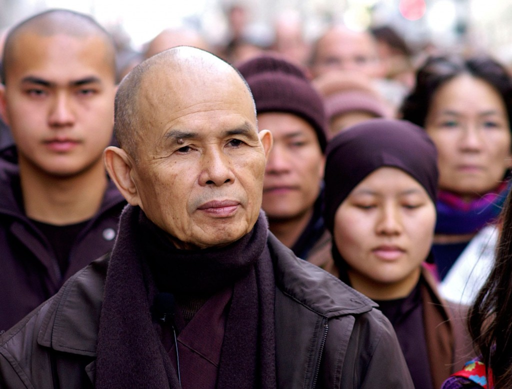 Thich Nhat Hanh: Be Beautiful, Be Yourself (& Lions Roar article