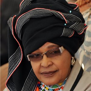 Winne Mandela posted by Alice Walker on alicewalkersgarden.com